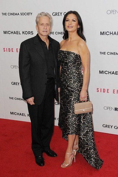 Майкл Дуглас и его жена Кэтрин Зета-Джонс. Фото