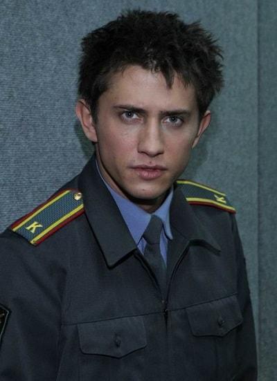 Павел Прилучный в молодости. Фото