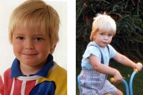 Роберт Паттисон в детстве