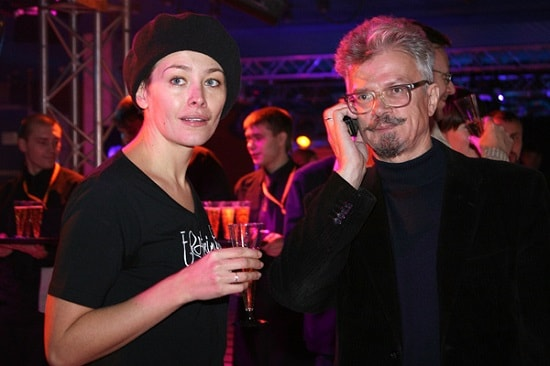 Актриса Екатерина Волкова и Эдуард Лимонов