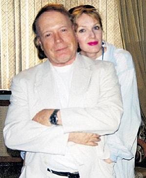 Эдвард Радзинский и Елена Денисова. Фото