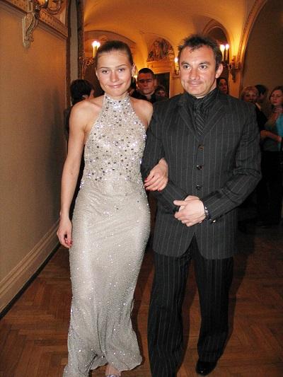 Николай Фоменко и Мария Голубкина