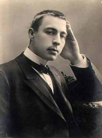 Сергей Рахманинов в молодости