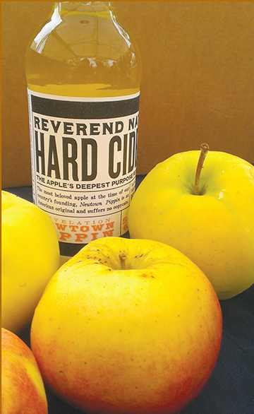 Reverend Nat's Hard Cider makes summer and winter seasonals. (Hollywood Farmers Market)