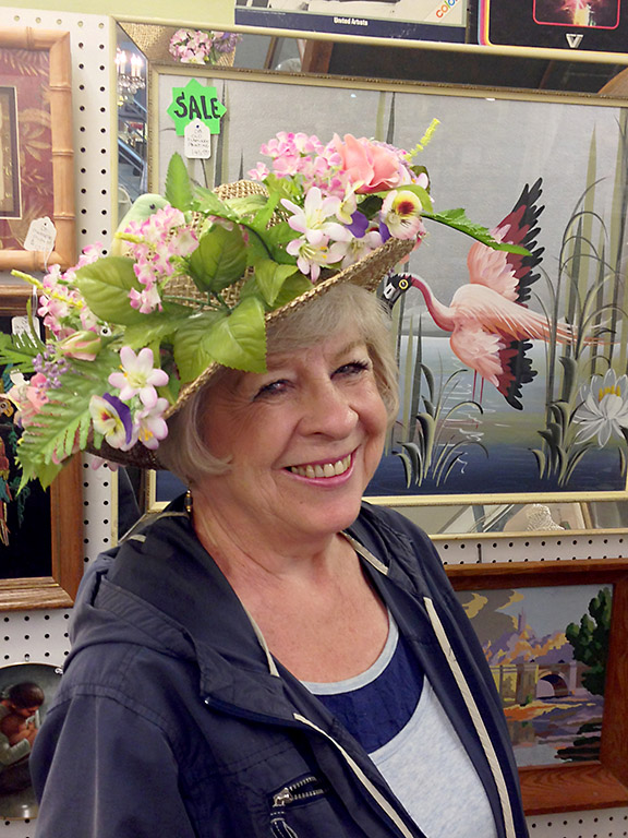 Arlene Halvorson, board chair of the Hollywood Senior Center, will be sipping Mint Juleps at Derby Day. The event will raise funds for the Hollywood Senior Center.
