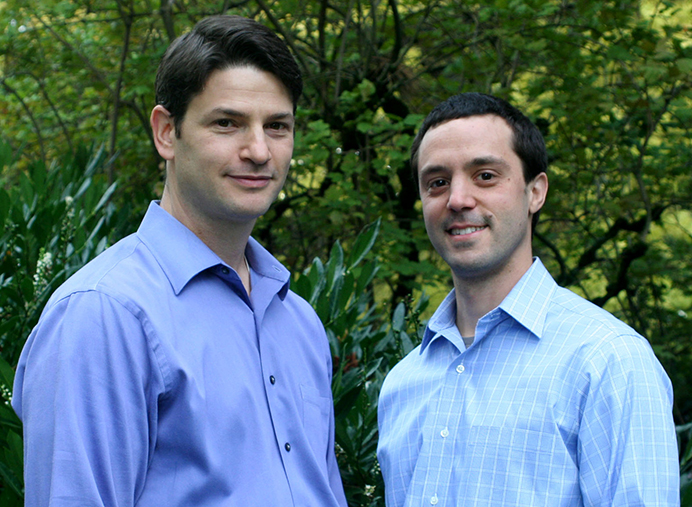 Erik Isaacman, left, and Oliver Leonetti, owners of Inner Gate Acupuncture, will celebrate ten years in business this month. Originally located at 15th and Fremont in Northeast Portland's Irvington neighborhood, the clinic moved to their current location in 2009. (Inner Gate Acupuncture)