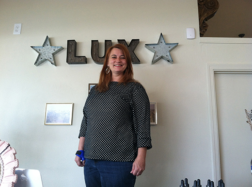 Katie Robinson has opened Lux Boutique in the space next door to Tiger Lily Tattoo in the Hollywood district. (Ted Perkins)