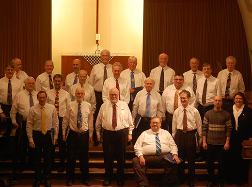 Satori Men's Chorus perform three concerts a year at Central Lutheran Church located in Irvington. (Satori Men's Chorus)
