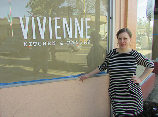 Robin Wheelright will be opening Vivienne Kitchen & Pantry in the former home of Mudd Coffee, adjacent to the Hollywood Theatre. (Ted Perkins)
