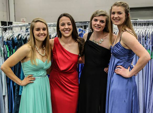 Abby's Closet offers prom gowns to students in need