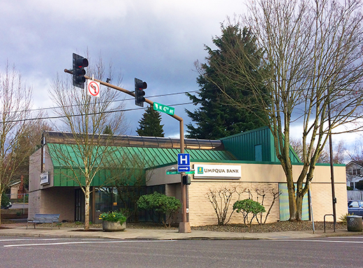 New six-story project on tap for Umpqua Bank site in Rose City