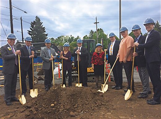 Portland Clinic breaks ground on former Rheinlander site
