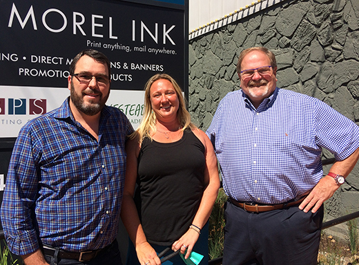 New owners ink deal with Bill Dickey for Morel Ink in Cully