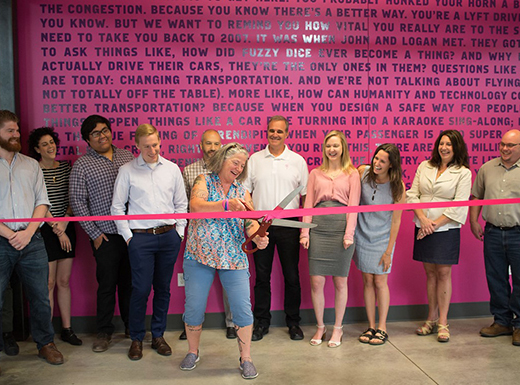 Lyft driver 'hub' opens on Mississippi in Eliot neighborhood
