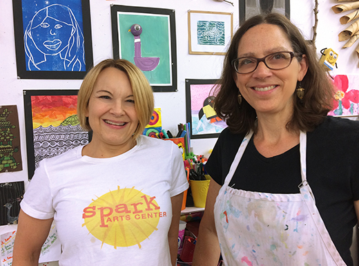Spark Arts Center celebrates five years in Hollywood