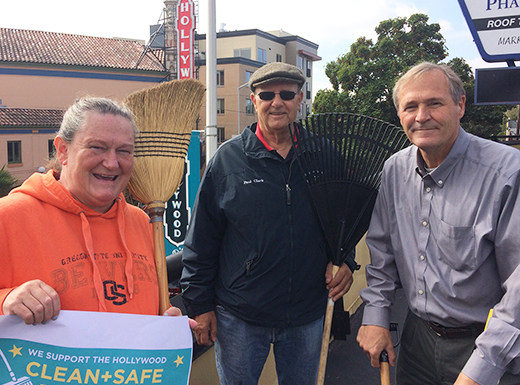 Hollywood Boosters kick off 'clean and safe' campaign
