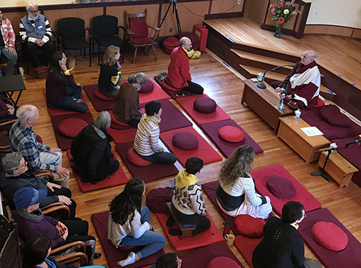 Buddhist community hosts celebration in new Cully home