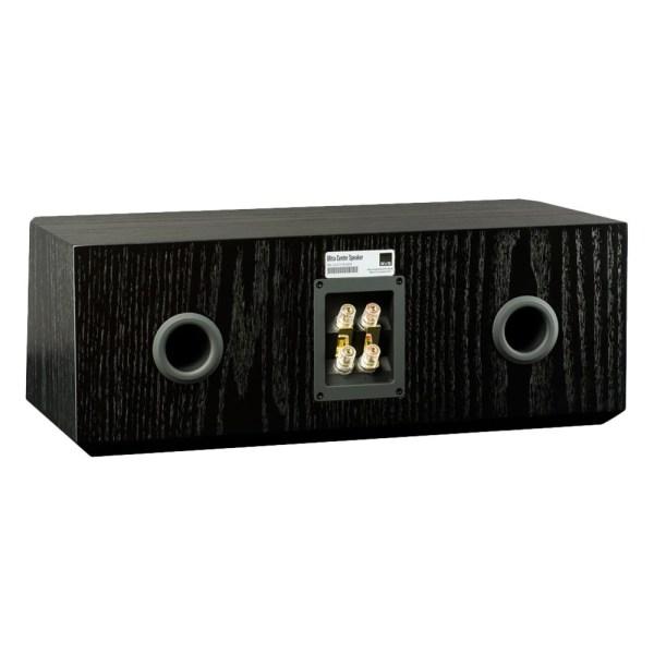 """Ultra Dual 6-1/2"""" Passive 3-Way Center-Channel Speaker Black oak"""