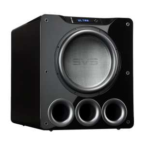 "16"" 1500W Powered Subwoofer Gloss piano black"