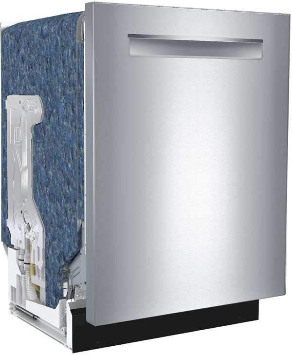 "800 Series 24"" Pocket Handle Dishwasher with Stainless Steel Tub Stainless steel"