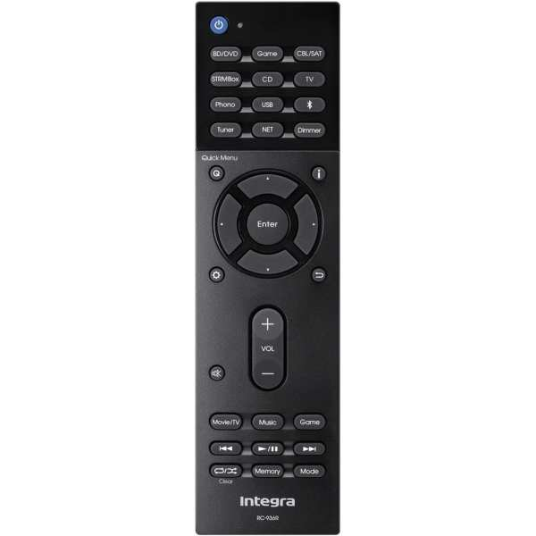 6.1-Ch. Hi-Res Network-Ready 4K Ultra HD and 3D Pass-Through A/V Home Theater Receiver