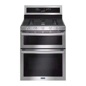 6.0 Cu. Ft. Self-Cleaning Freestanding Double Oven Gas Convection Range Fingerprint Resistant Stainless Steel