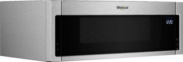 1.1 Cu. Ft. Low Profile Over-the-Range Microwave Hood Combination Stainless steel