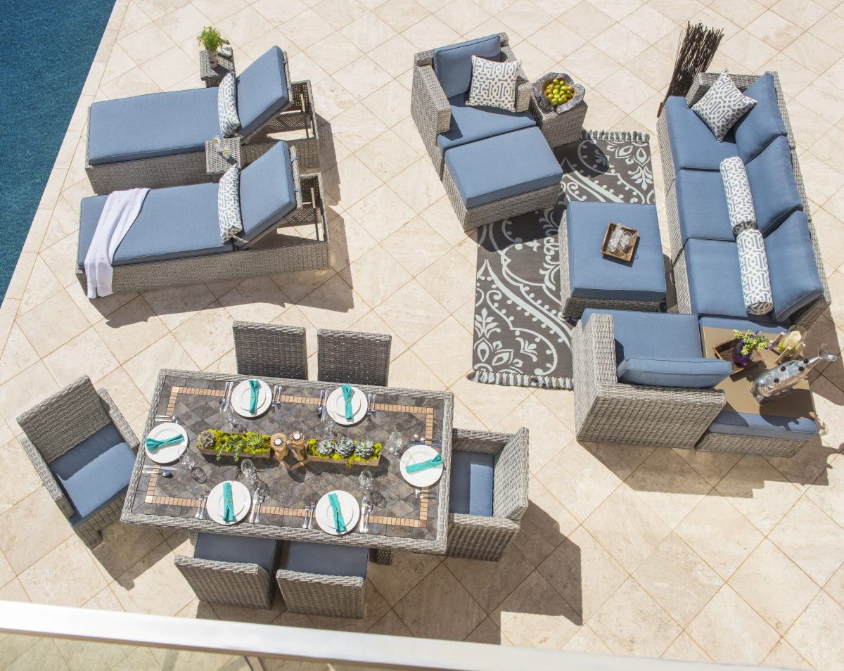 tips on how to arrange patio furniture