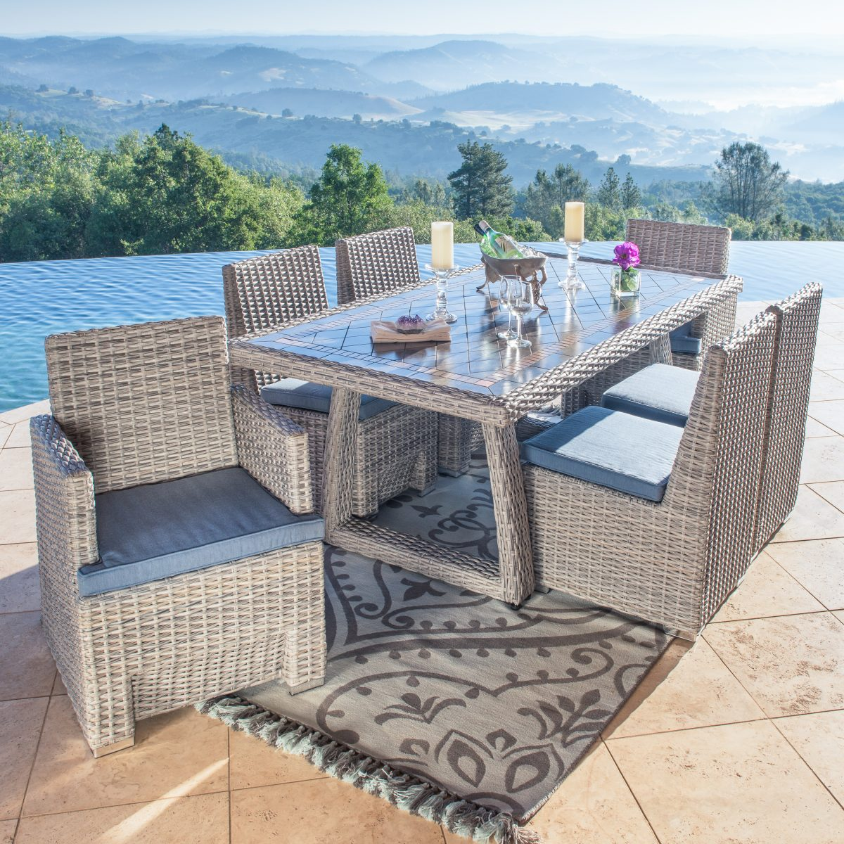 best outdoor dining chairs high chair for kitchen a guide to picking the set your backyard