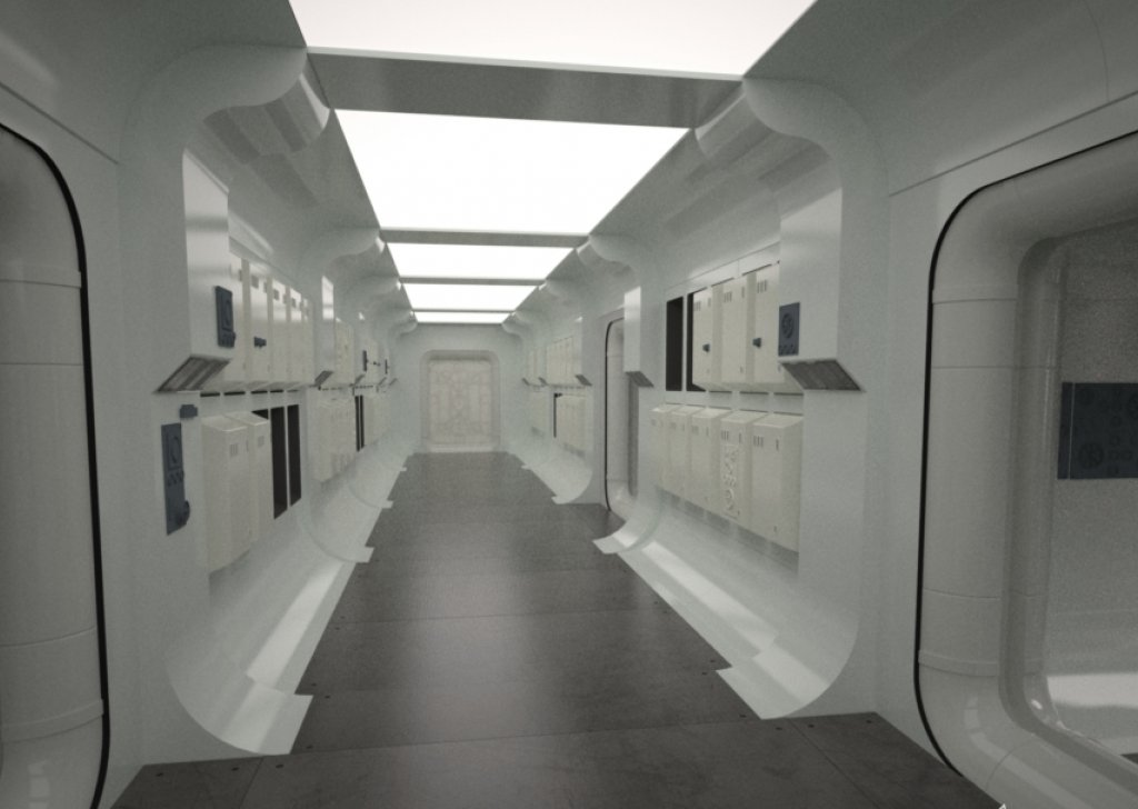 Rebel Ship Hallway Audio Atmosphere