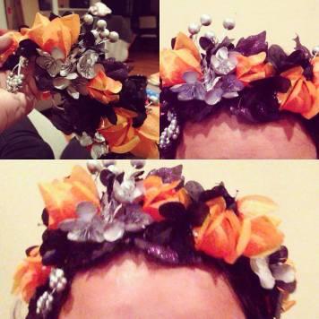 Halloween crown