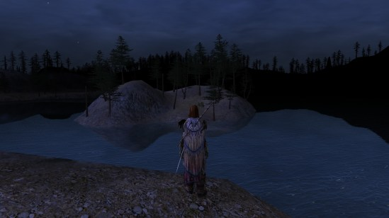 Lotro: Tâl Methedras lake