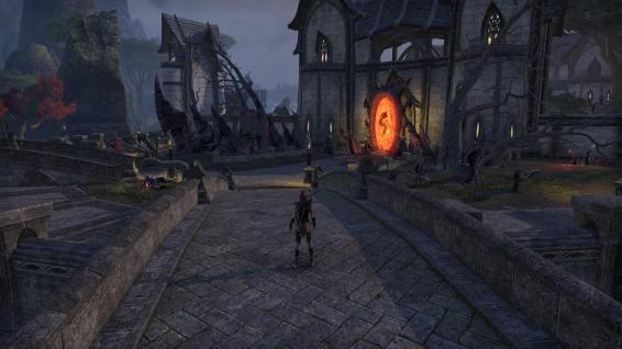 An oblivion gate