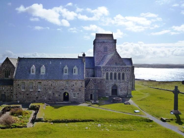 mystical Iona Abbey