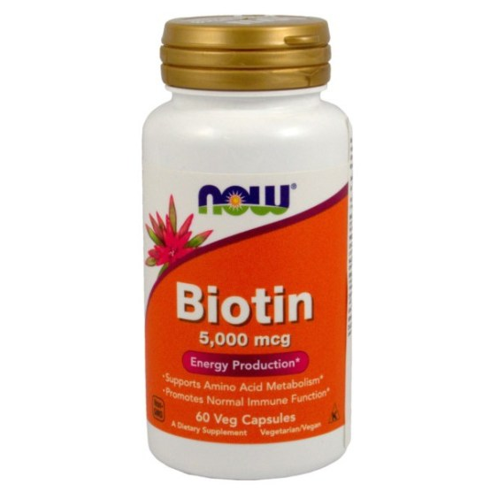 NOW FOODS BIOTYNA 5,000MCG 60 TABL.