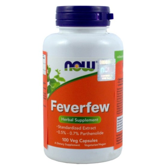 NOW FOODS FEVERFEW 100K
