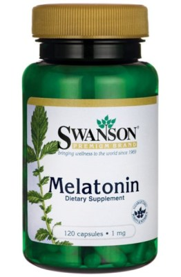 SWANSON MELATONINA 1MG 120KAPS.