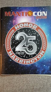 Manticon 2018 Program book cover and logo