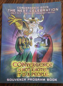 Convergence program book Cover