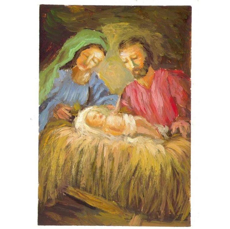Holy Family Christmas Card StarBazaar