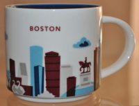 You Are Here  Boston  Starbucks Mugs
