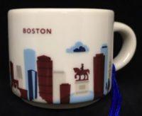 You Are Here Ornament  Boston  Starbucks Mugs