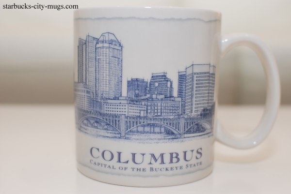 Columbus Starbucks City Mugs