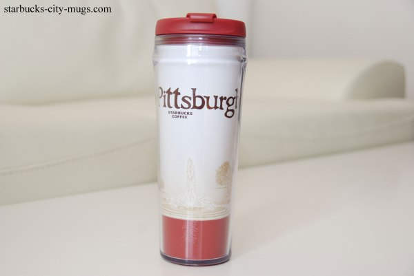 Pittsburgh Tumbler Starbucks City Mugs