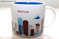 Boston  Ornament- Bottle   Starbucks City Mugs