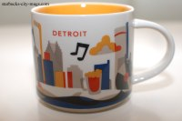 Detroit | Starbucks City Mugs