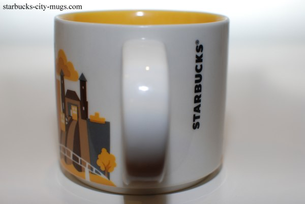 Pittsburgh Starbucks City Mugs