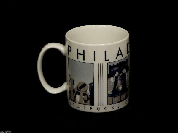 Philadelphia Starbucks City Mugs
