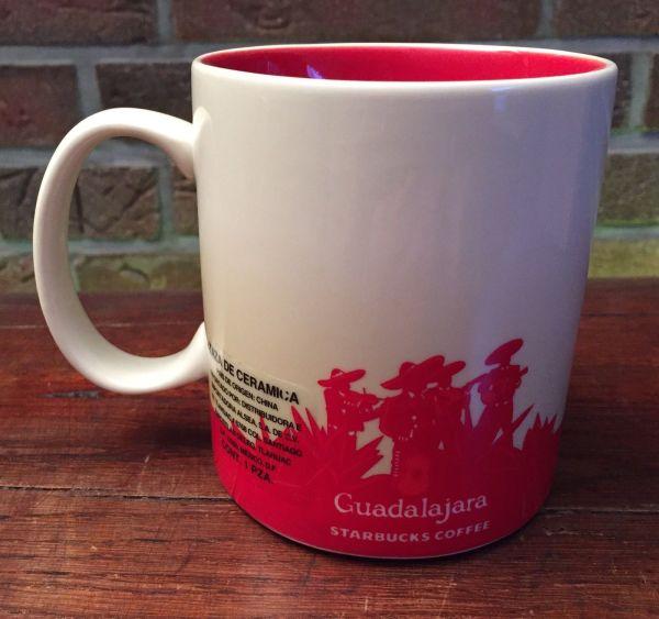 Guadalajara 1 & 2 Starbucks City Mugs
