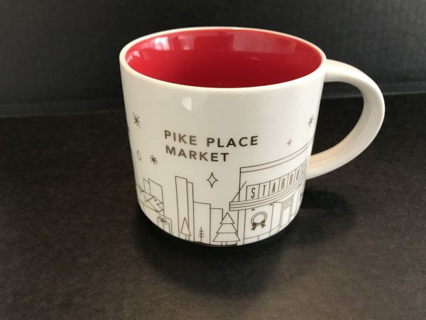 Pike Place Market Starbucks City Mugs